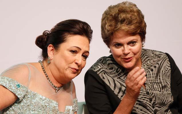 Dilma na posse de Katia Abreu na CNA