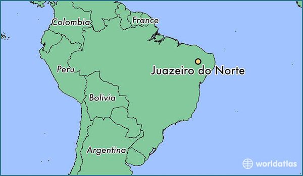 juazeiro-do-norte-locator-map