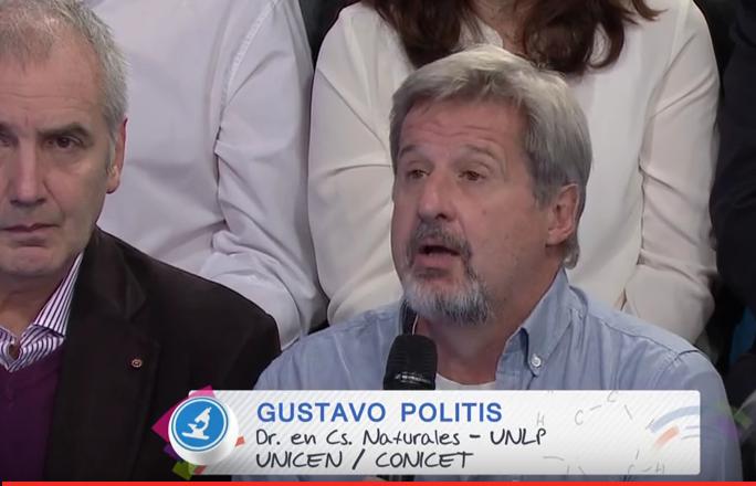 Dr. Gustavo Politis, Dr. en Cs. Naturales