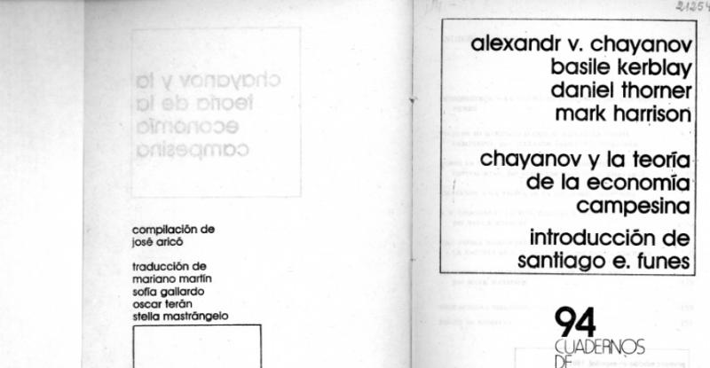 chayanov